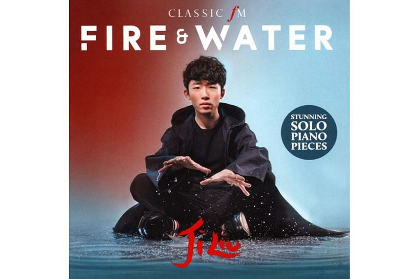 Piano sensation Liu Ji's fourth album on the Classic FM label (distributed by Decca) has two of the five Chinese elements as the theme: fire and water.