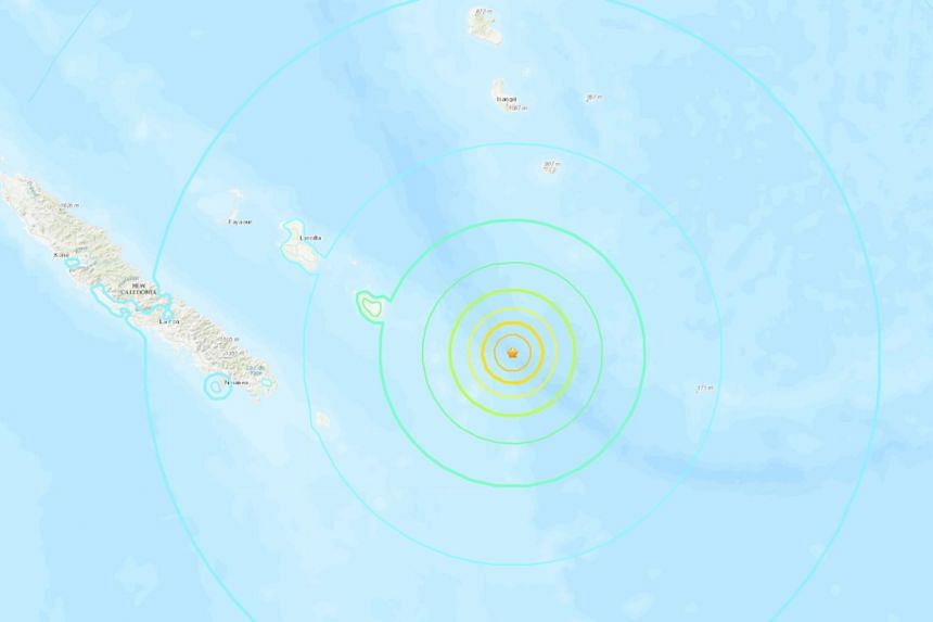 The US Geological Survey (USGS) originally gave the magnitude of the quake as 7.6 before revising it downwards slightly.