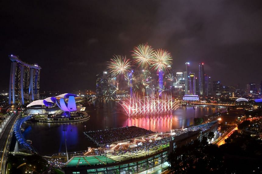 A fireworks musical will make its debut outside of Japan for the first time at The Float @ Marina Bay on Dec 31.