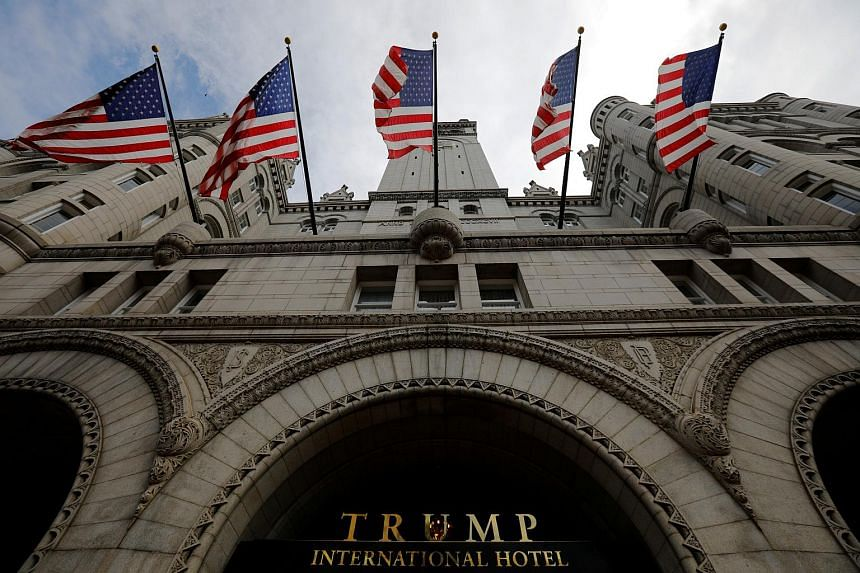 The investigation focuses on the Trump International Hotel just four blocks away from the White House.