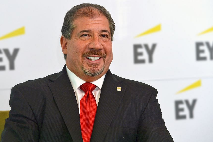 Ernst & Young global chairman and chief executive Mark Weinberger has served in the role since 2013. The company said it expects to appoint a replacement next month.