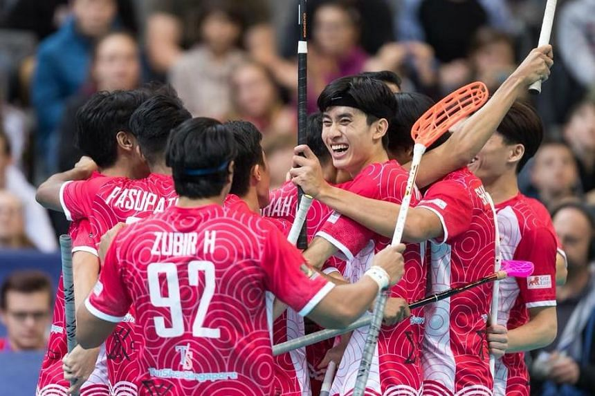 While Singapore's men's floorball team missed out on their top-12 target by goal difference, they have already amassed more points in this edition of the World Floorball Championship than in their previous four campaigns combined.