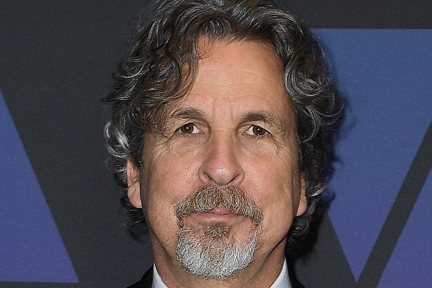 Green Book (starring Mahershala Ali, far left, and Viggo Mortensen, left) by director Peter Farrelly (above) is a historical drama dealing with issues of race and class.