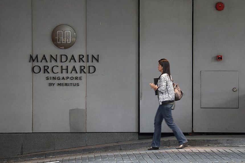 Those who fell ill attended events at the Grand Ballroom in Mandarin Orchard Hotel in four separate events over three days, from last Saturday to Monday. The authorities said investigation into the possible causes of the incidents is ongoing.