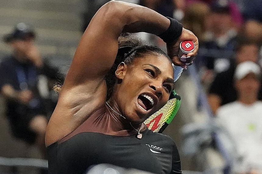 Serena Williams, seen competing at the US Open final in September, will attempt to add to her tally of 23 Grand Slam singles wins at next year's Australian Open.