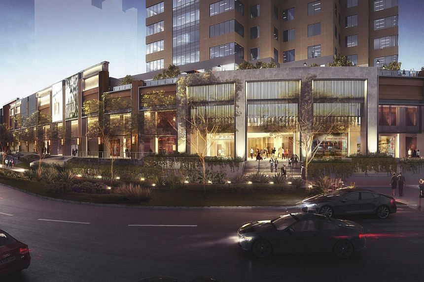 An artist's impression of Great World City's new facade. The mall has remained open during its redevelopment, which will take place over two years and be completed by 2020.