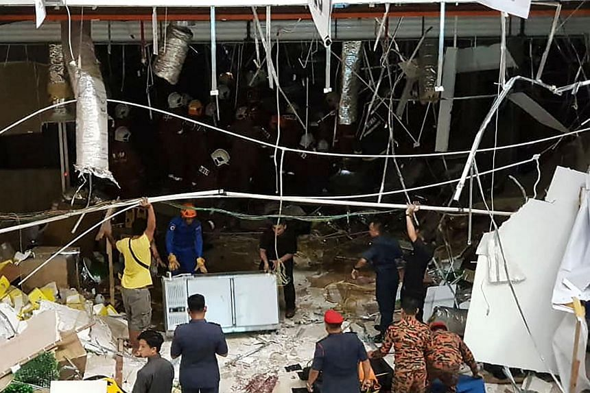 The explosion occurred at about 3.30pm on Dec 4, at the NeNe Chicken outlet on the ground floor which was being renovated for its opening the next day.