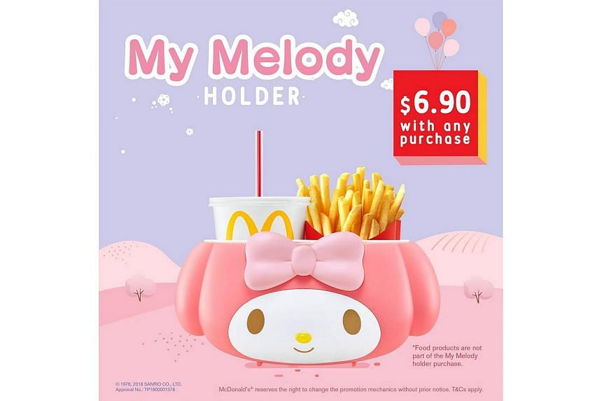 The holder went for $6.90 each with any McDonald's order.