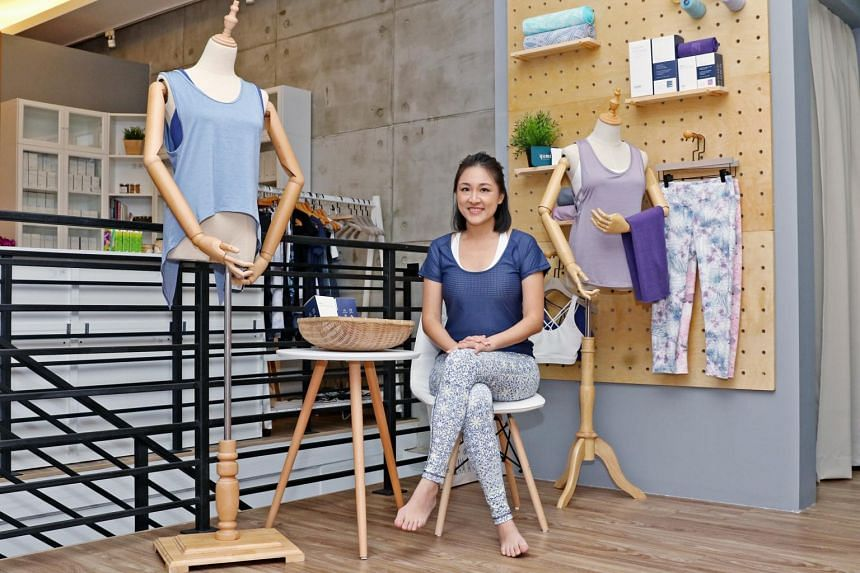 Ms Diana Chang, founder of Yumi Active, is one of the latest entrants to the Singapore athleisure market.