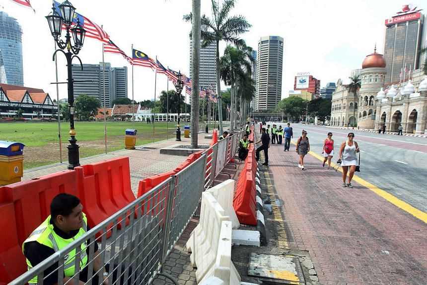 File photo of Dataran Merdeka in Kuala Lumpur, where opposition groups Parti Islam SeMalaysia and Umno say their rally will take place.