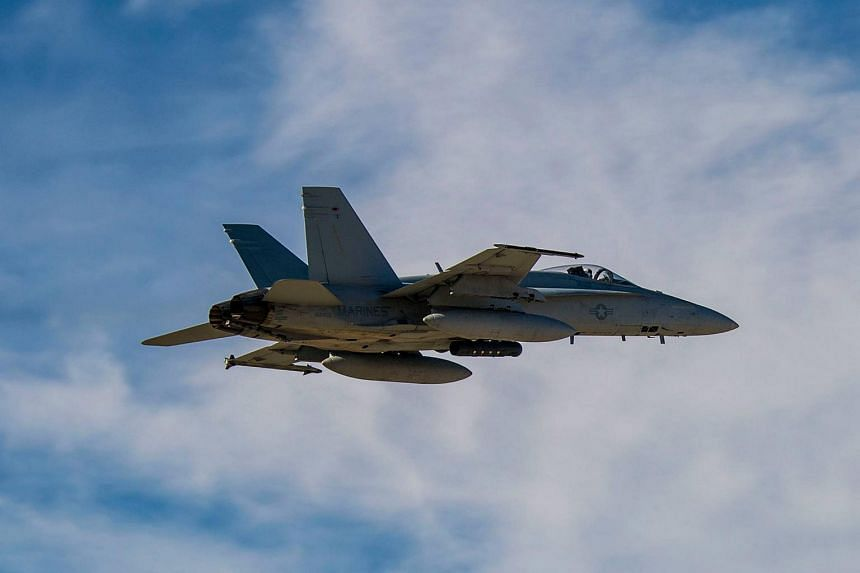 The incident occurred after an F/A-18 Hornet and a KC-130 Hercules took off from Marine Corps Air Station Iwakuni in Japan.