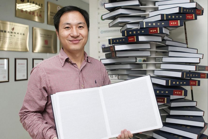 Dr He Jiankui, said he used Crispr, a gene-editing technique, to alter a gene in human embryos - and then implanted the embryos in the womb of a woman, who gave birth to twin girls in November.