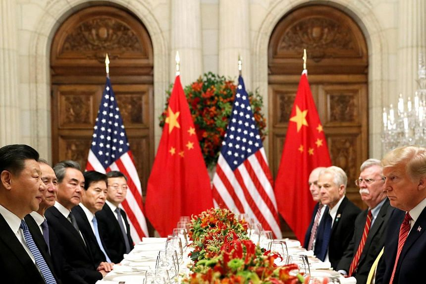 China and the Unite States agreed to a ceasefire in their bitter trade war on Dec 1, 2018, after high-stakes talks in Argentina between Chinese President Xi Jinping and his US counterpart Donald Trump.