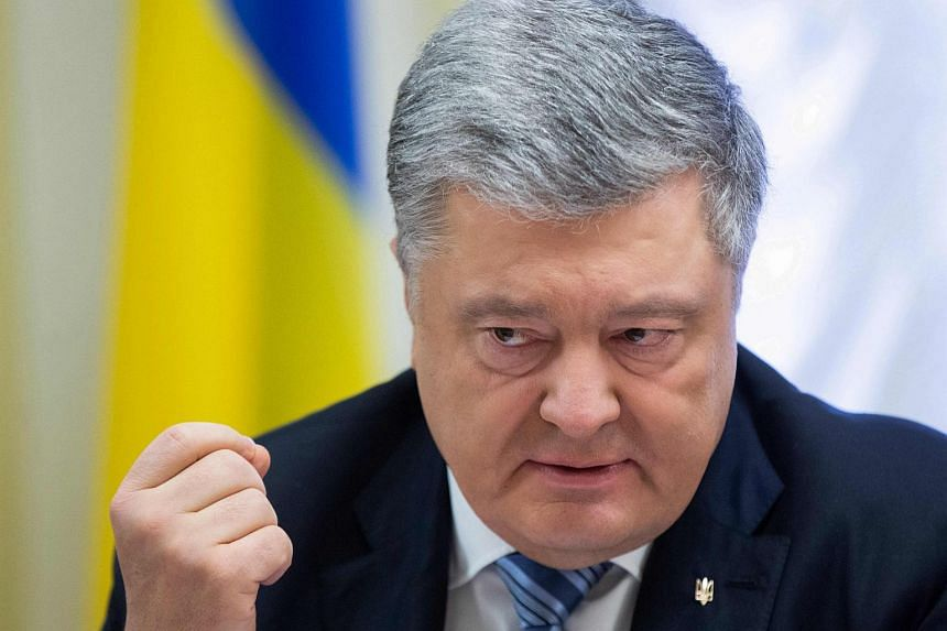"""The Ukrainian people will not watch as Russia continues its creeping annexation of our country,"" said Ukraine President Petro Poroshenko."