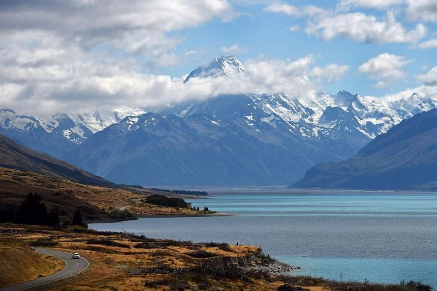 A file photo of New Zealand's highest mountain Mount Cook. New Zealand's defence minister said he was using the assessment on climate change to inform defence spending and investment plans set to be released next year.