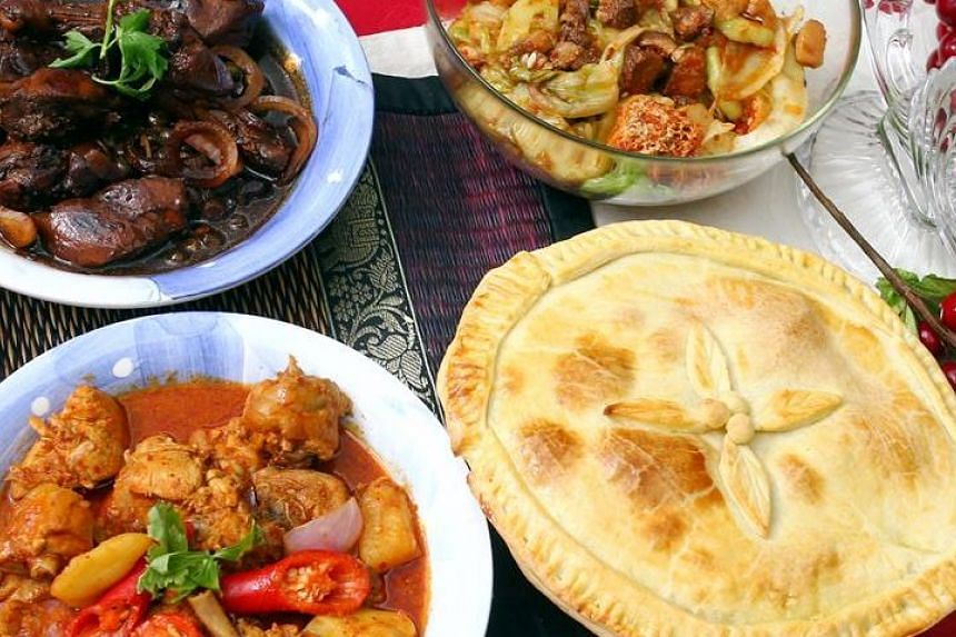 Whip up traditional Kristang favourites such as devil curry, seybak, rose chicken and a Christmas pie for Yuletide festivities.