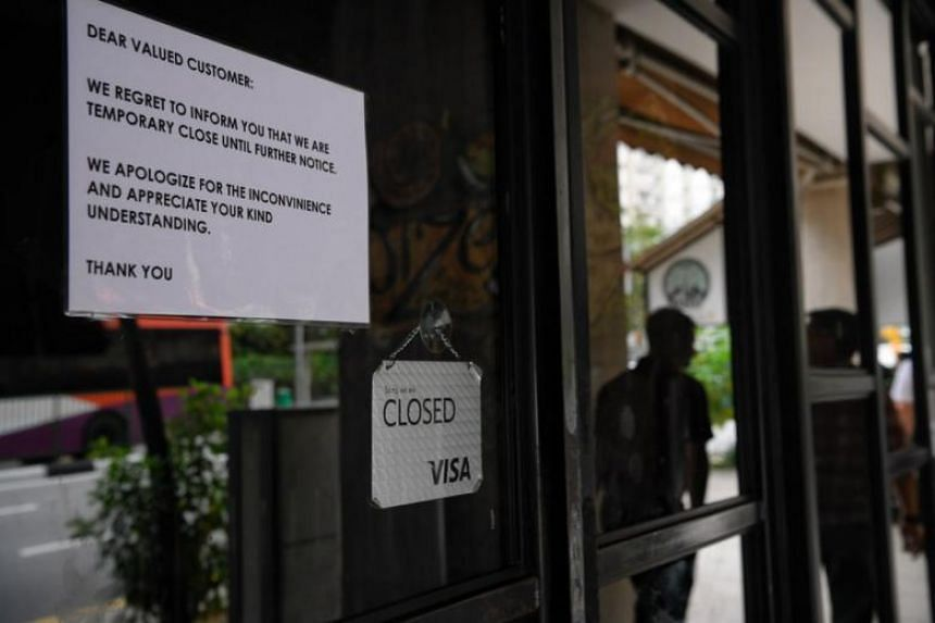The closed Spize outlet in River Valley. NEA will also be taking enforcement action against Spize restaurant for the lapses, including pressing charges in court.