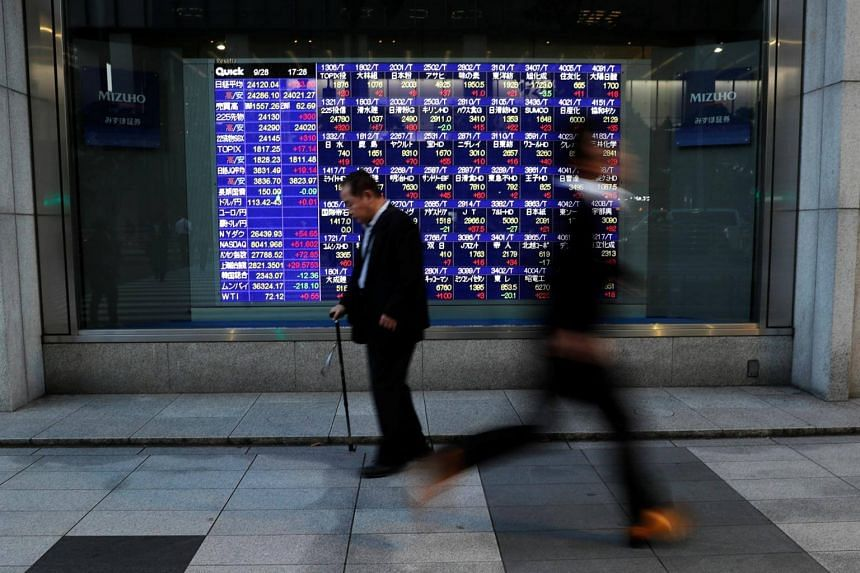 Markets also face a test from US payrolls data later in the session amid speculation the economy was heading for a tough patch after years of solid growth.