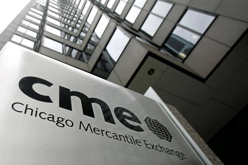 """Chicago Mercantile Exchange (CME) applied to invalidate Intercontinental Exchange Holdings Inc's (ICE) trademark registrations of the words """"Brent"""" and """"Brent index""""."""