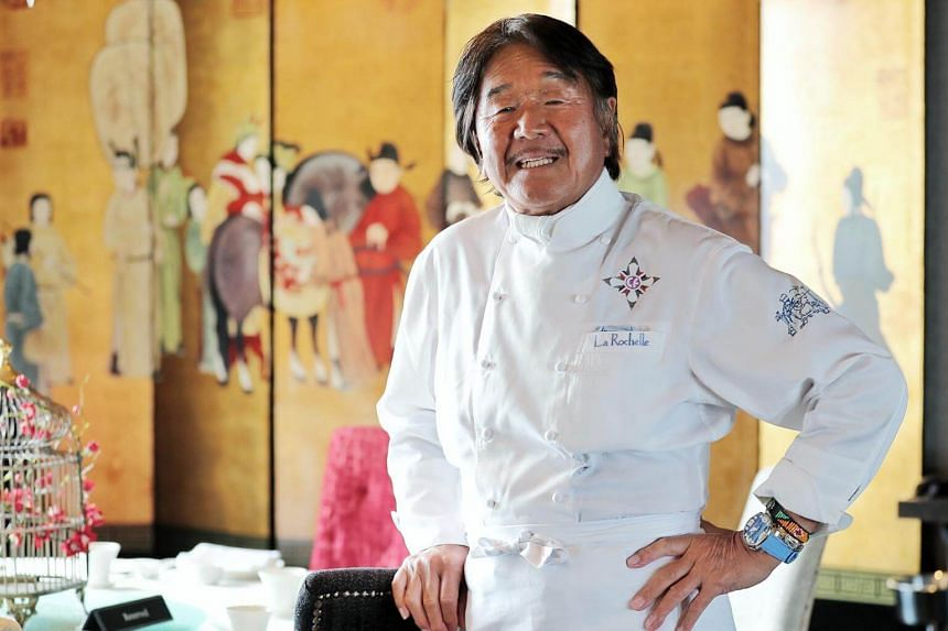 Hiroyuki Sakai is best known as Iron Chef French in the Japanese television cooking series, Iron Chef.