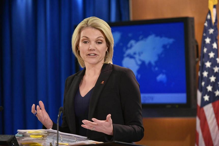 State Department spokesman Heather Nauert (pictured) will replace outgoing United Nations ambassador Nikki Haley.