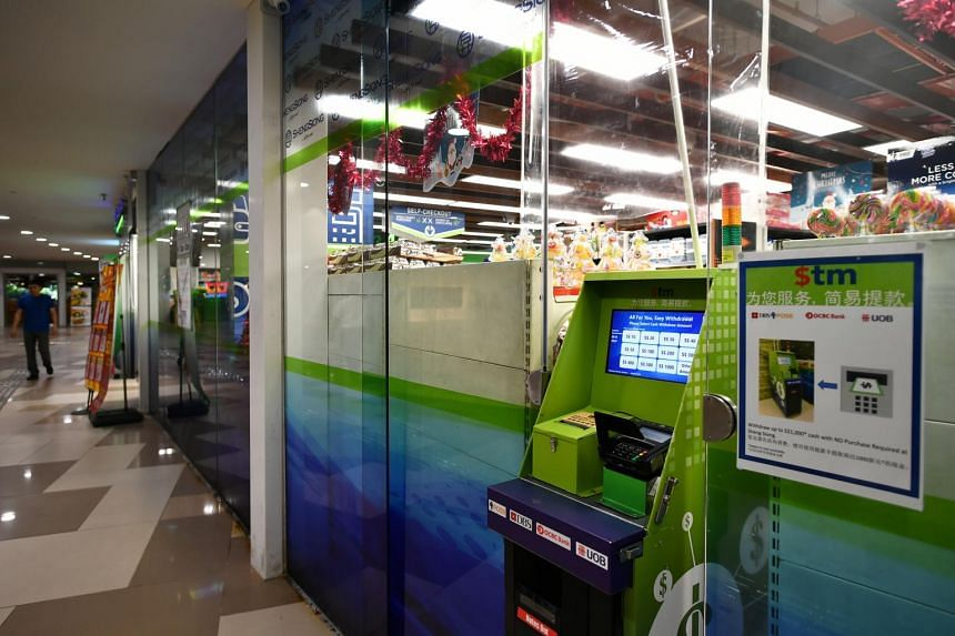 Called $tm, they are the first cash recycling machines in Singapore, and can allow users to only withdraw funds from their bank accounts.