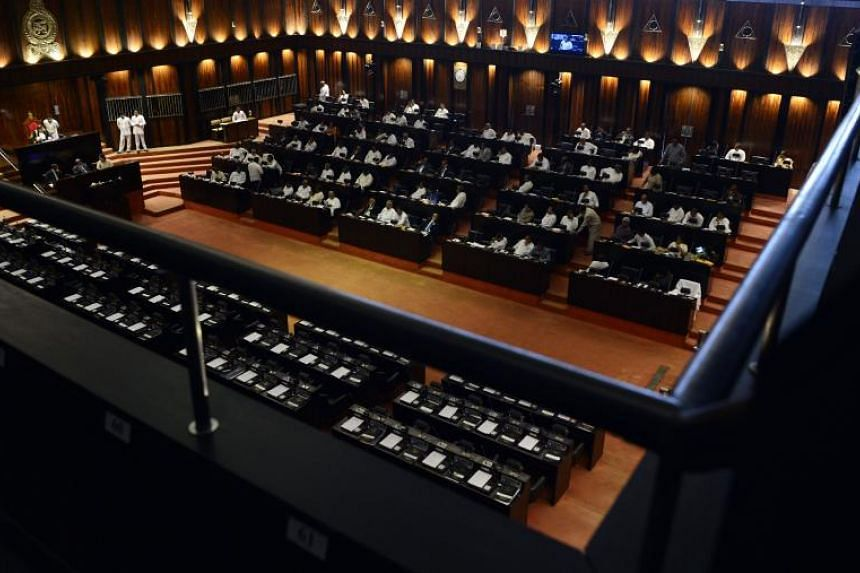 With parliamentary proceedings degenerating into brawls, the United States, the European Union and other powers have raised concerns over the crisis in Sri Lanka.