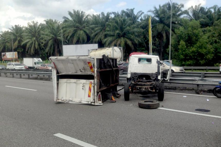 The accident occurred at 11.50am on Dec 7, 2018, at kilometre 269 of the North-South Expressway.