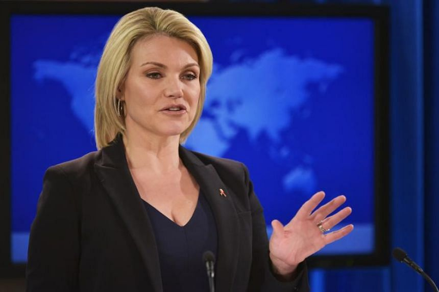 Heather Nauert was chosen to be State Department spokesman in April 2017 and was promoted to its fourth-highest post in March 2018, becoming Acting Under Secretary for Public Diplomacy and Public Affairs.