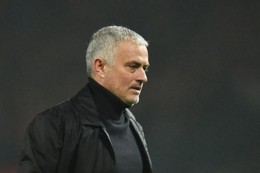 Jose Mourinho is having a difficult time at Old Trafford with the Red Devils in eighth place in the Premier League.