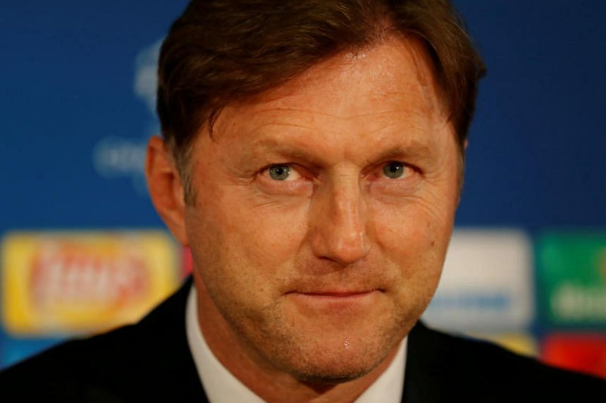 Ralph Hasenhuttl (above) shrugged off comparisons with his friend and Liverpool manager Jurgen Klopp and prioritised dragging Southampton out of the relegation zone.