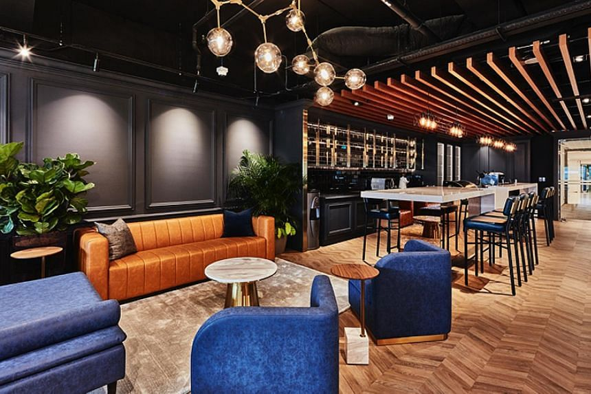 The General Room at TripleOne Somerset includes a hot-desking area, meeting rooms, an event space and a conference room. Monthly charges start from $500 for a single desk to $4,000 for a private room with four desks. A $50 day-pass is also available.