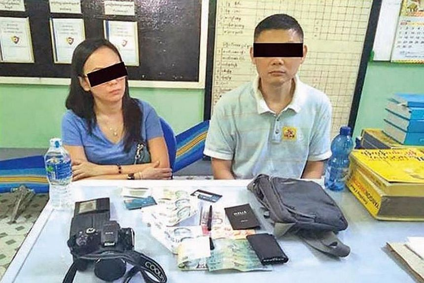 The two Singaporeans detained in Myanmar for using fake kyat notes are getting consular help from the Singapore Embassy in the country.
