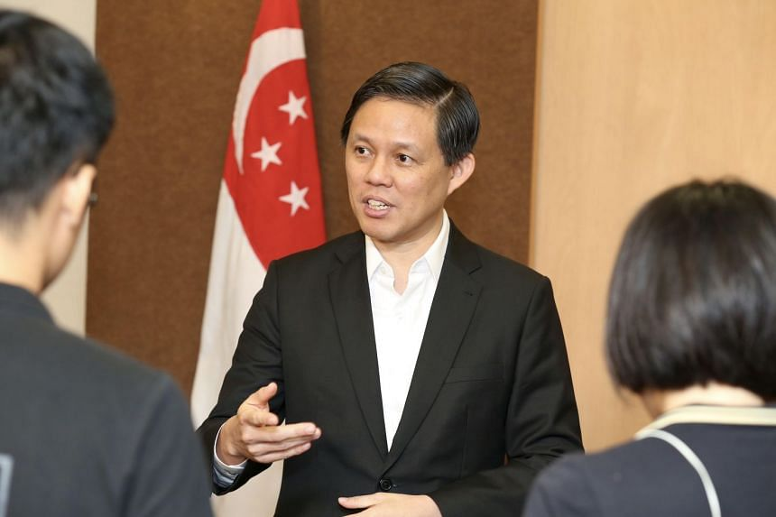 """Explaining the Government's latest response, Minister for Trade and Industry Chan Chun Sing said Malaysia's proposal """"cannot be right""""."""