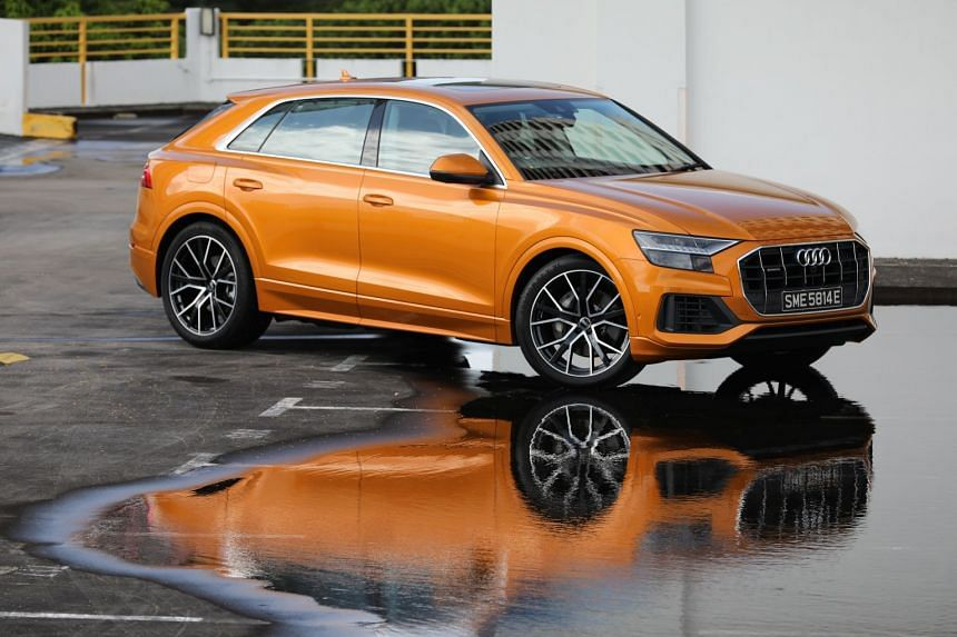 The Audi Q8 is exceptionally spacious and can seat four people in luxurious comfort.