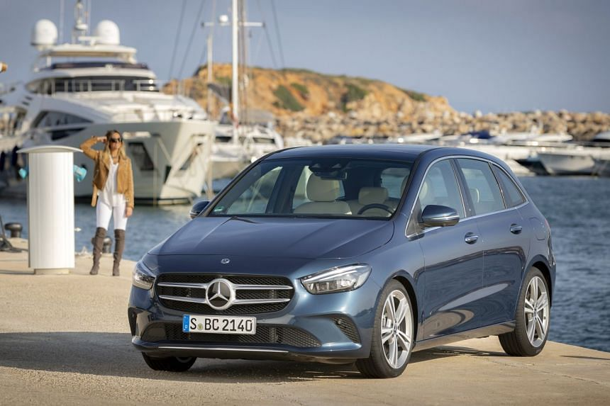 The B-class looks cuddly, reflecting its more family-oriented focus.