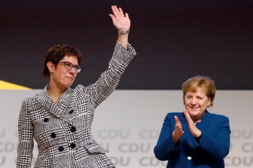 Newly elected leader Annegret Kramp-Karrenbauer is the first to say she is no carbon copy of her famous predecessor Angela Merkel.