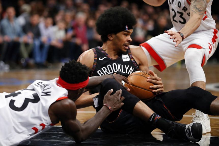 Jarrett Allen helped the Brooklyn Nets end an eight-game home losing streak and an eight-game overall skid when he converted a reverse layup with 64 seconds left in overtime.