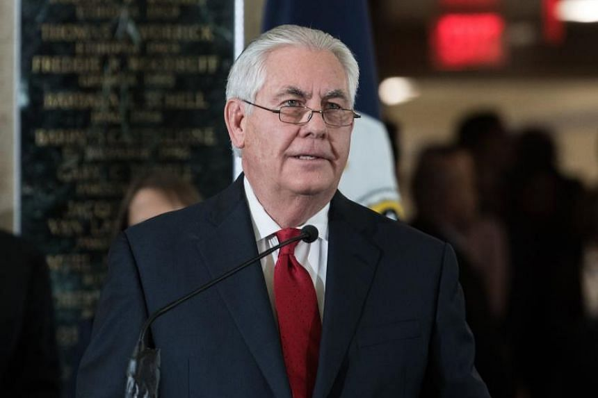 The biting retort came after Mr Rex Tillerson made his first public remarks about President Donald Trump during an appearance at a charity event in Texas.