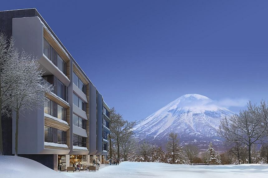 SC Global Developments founder Simon Cheong bought land in Niseko a few years after the 2011 Fukushima nuclear crisis. An artist's impression of SC Global's Setsu Niseko, a 190-unit luxury hotel apartment project in Hirafu, which is due to be complet
