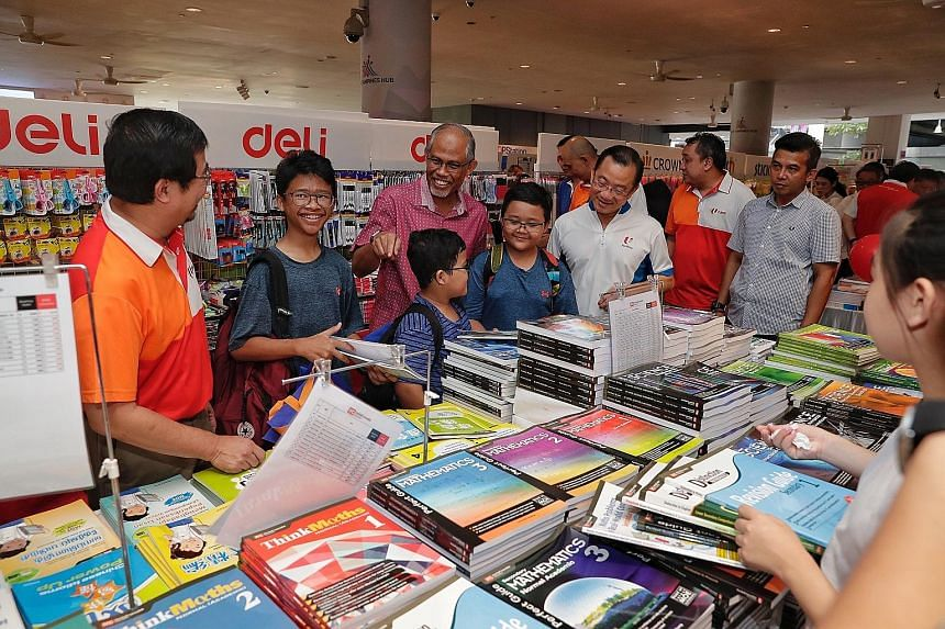 More than 24,000 children, aged between seven and 16, have been given the opportunity to collect free textbooks under the FairPrice Share-A-Textbook priority scheme. The free textbooks will help defray the cost of school expenses for low-income famil