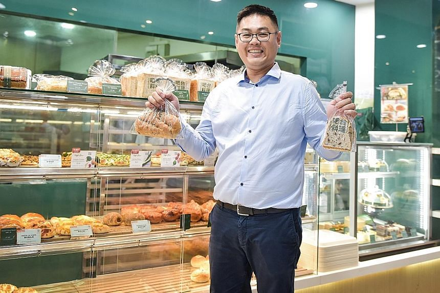 Mr Sim Lih Cherng took a professional baking course in Taiwan in 2005 and honed his craft at various bakeries in Singapore.