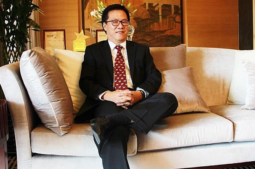"Hotelier Harry Tan still remembers an incident in China from years ago: A guest complained of being taken to the hotel cafeteria when what she wanted to do was make a long-distance call. ""It turned out she wanted to call Hungary,"" he said."