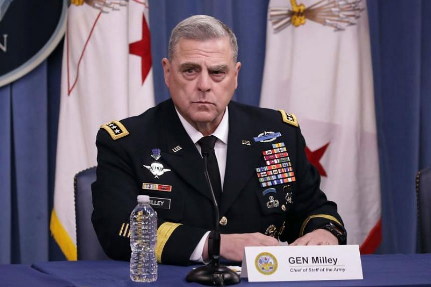 Army chief of staff General Mark Milley (pictured), a four-star general who has served in Iraq and Afghanistan, would replace General Joseph Dunford as the military's next chairman of the Joint Chiefs of Staff.