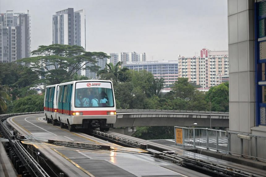SMRT tweeted at 8.44pm saying that train services will be unavailable system-wide.