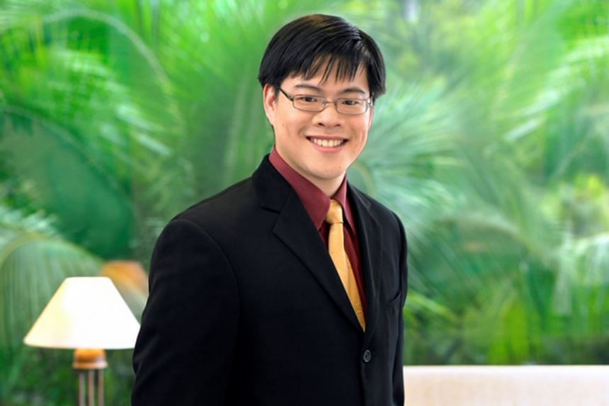 """Above: Assistant Professor Benjamin Tee has won awards for his research on """"electronic skin"""" for use in robotics and prosthetic devices. Left: Assistant Professor Joel Goh's work has received considerable media coverage."""