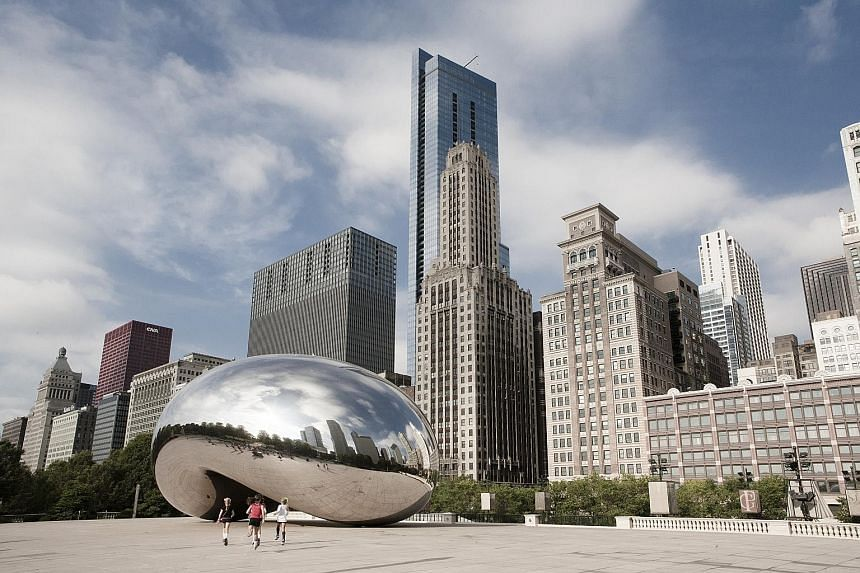The National Rifle Association in the United States used a shot of London-based artist Anish Kapoor's Cloud Gate in a video last year.