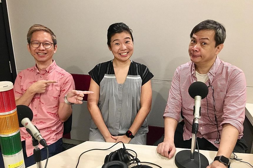 Life writers (above from left) Boon Chan, Melissa Sim and John Lui chat about the Widows film and concerts by Singapore singer Charlie Lim and Mandopop star Khalil Fong.