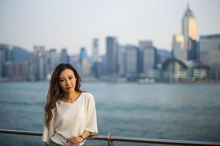 Female Hong Kong cabin crew members are hitting back against sexual harassment. They say they have been harassed at work not only by passengers but also other airline staff. Cabin Attendants Union of Hong Kong leader Venus Fung (above) says airlines