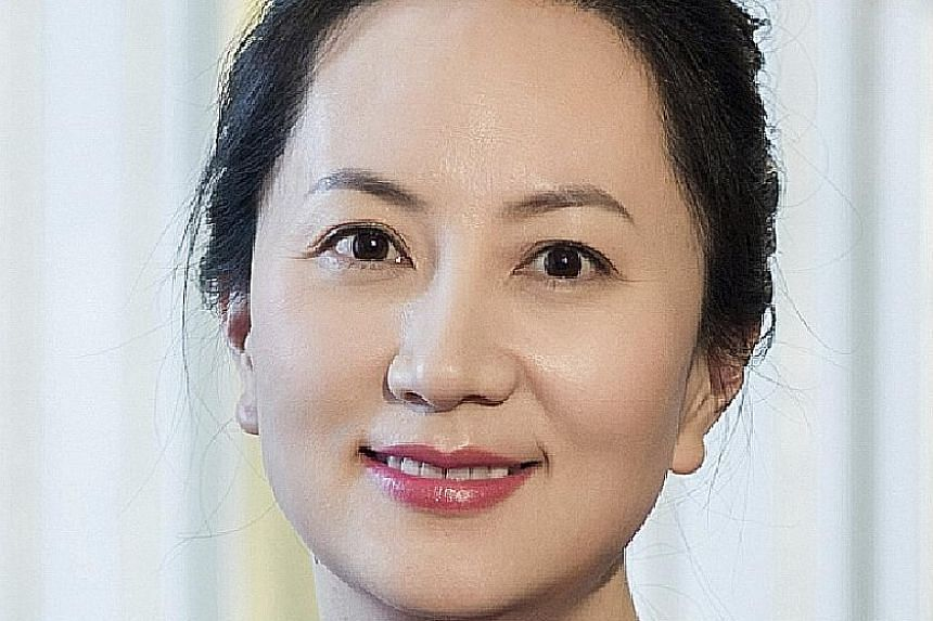 Huawei chief financial officer Meng Wanzhou was arrested in Vancouver on Dec 1.
